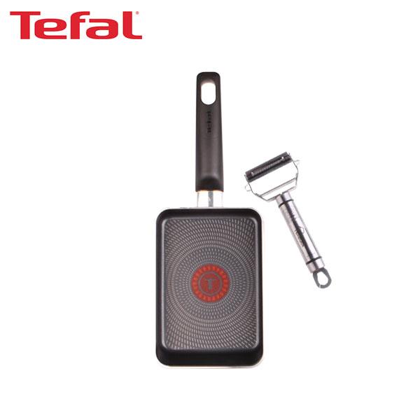 [테팔] 사각 에그팬 12*18cm+멀티필러 TFC-EPS18MP