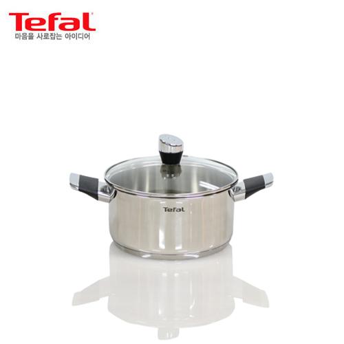 [테팔] 스텐 에모티온 양수냄비 20cm, TFC-EMP0
