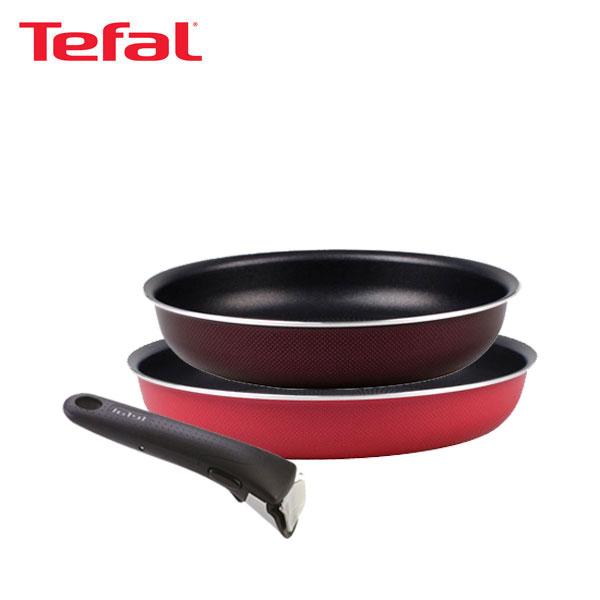 테팔 매직핸즈 트라이미 단품 프라이팬 22cm+26cm+손잡이 TFC-TRMHF26H