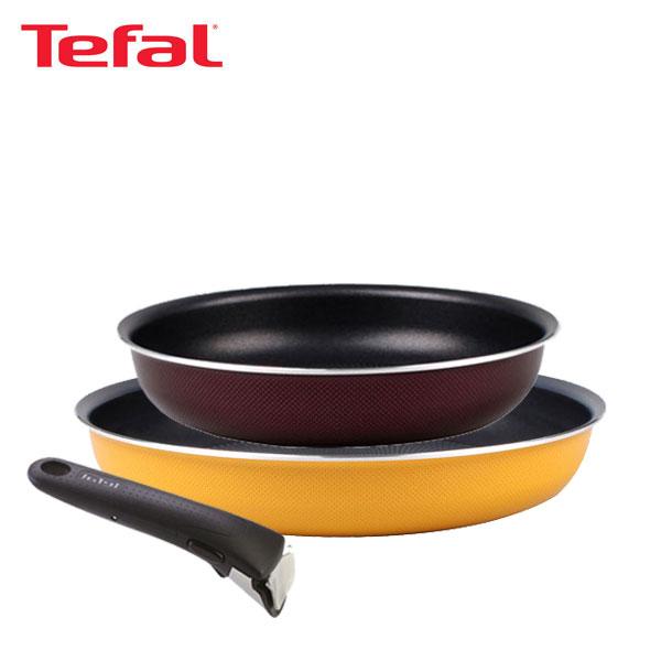 테팔 매직핸즈 트라이미 단품 프라이팬 22cm+28cm+손잡이 TFC-TRMHF28H