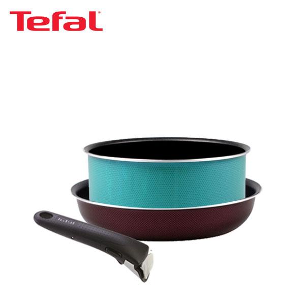 테팔 매직핸즈 트라이미 단품 프라이팬 22cm+냄비 20cm+손잡이 TFC-TRMHF2P0H