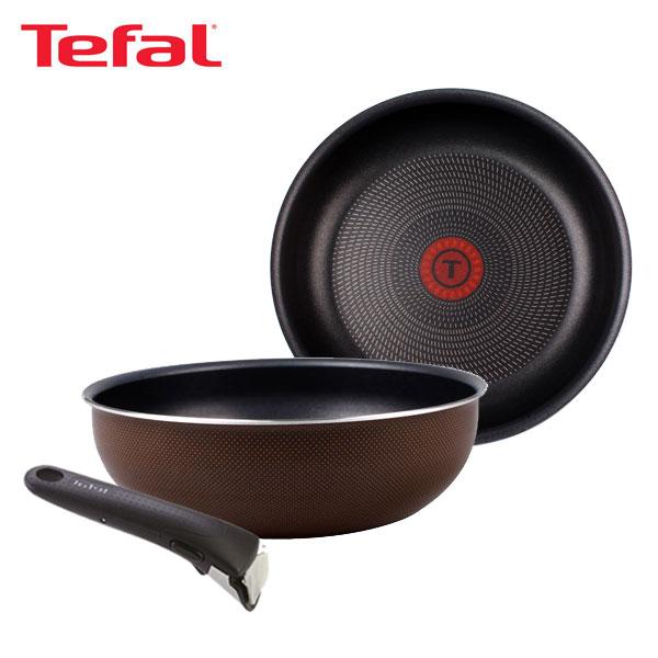 테팔 매직핸즈 트라이미 단품 프라이팬 22cm+멀티팬 24cm+손잡이 TFC-TRMHF2W4H