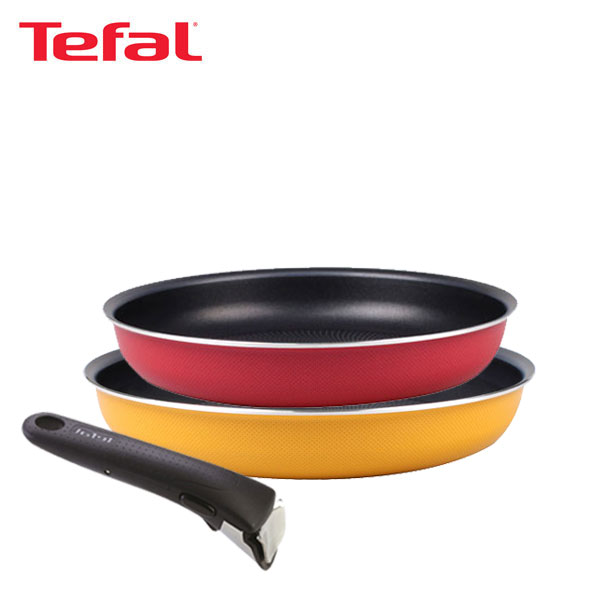 테팔 매직핸즈 트라이미 단품 프라이팬 26cm+28cm+손잡이 TFC-TRMHF68H