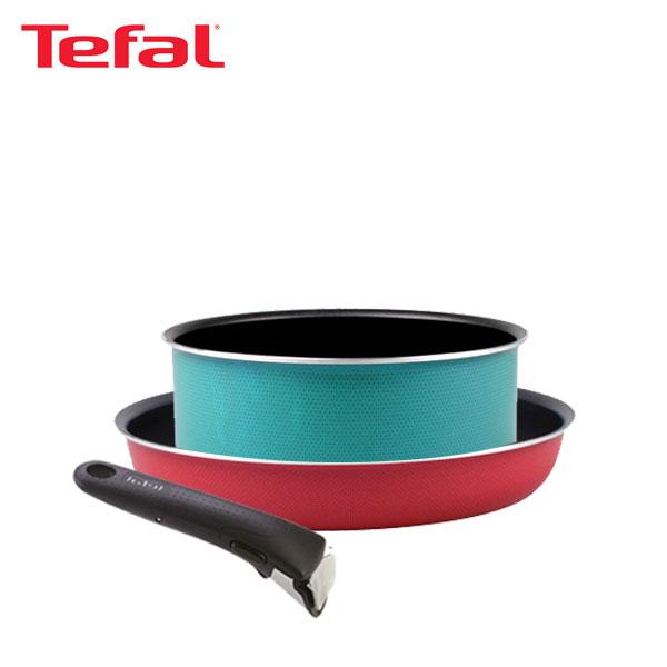 테팔 매직핸즈 트라이미 단품 프라이팬 26cm+냄비 20cm+손잡이 TFC-TRMHF6P0H