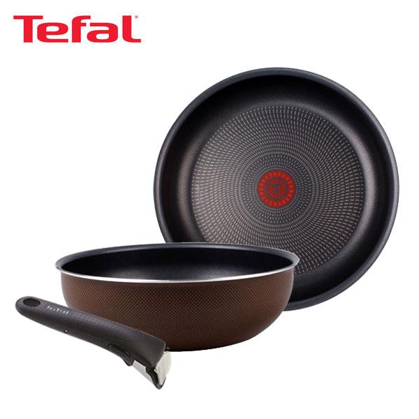 테팔 매직핸즈 트라이미 단품 프라이팬 26cm+멀티팬 24cm+손잡이 TFC-TRMHF6W4H