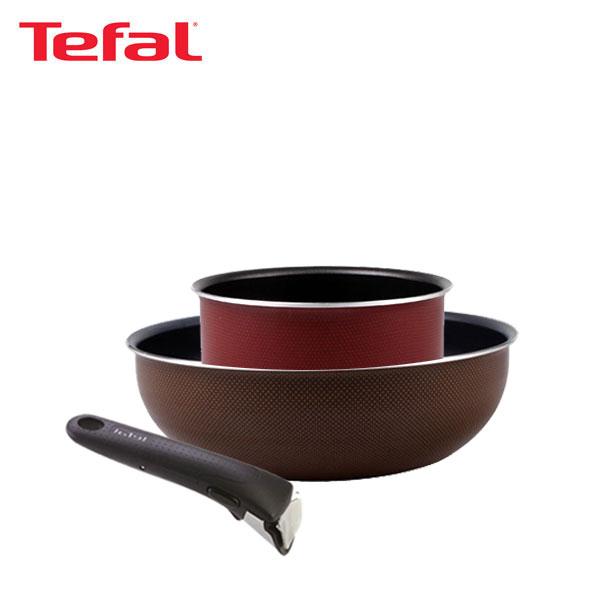 테팔 매직핸즈 트라이미 단품 멀티팬 24cm+냄비 16cm+손잡이 TFC-TRMHW4P6H